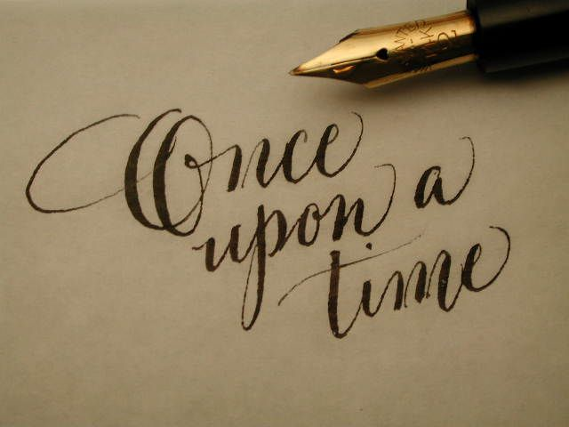 Once Upon A Time Calligraphy 247 best images about ...