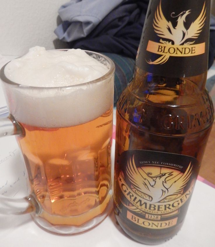 Grimbergen Blonde, burned but not destroyed