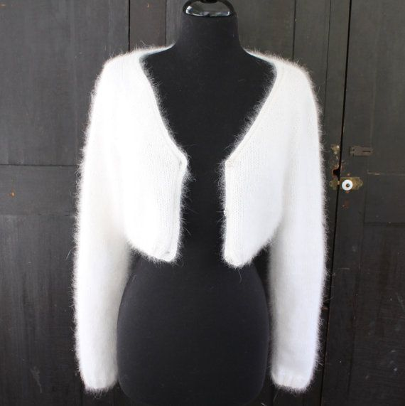 PATTERN - Kate Middleton Royal Angora Wedding Shrug/Bolero