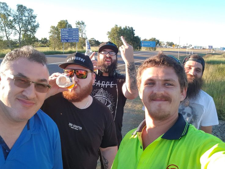 What started as a GTA online crew over a year ago has blossomed into a life long friendship with these guys! On the way back to the airport feeling sorry for myself but oh hell it was worth it!
