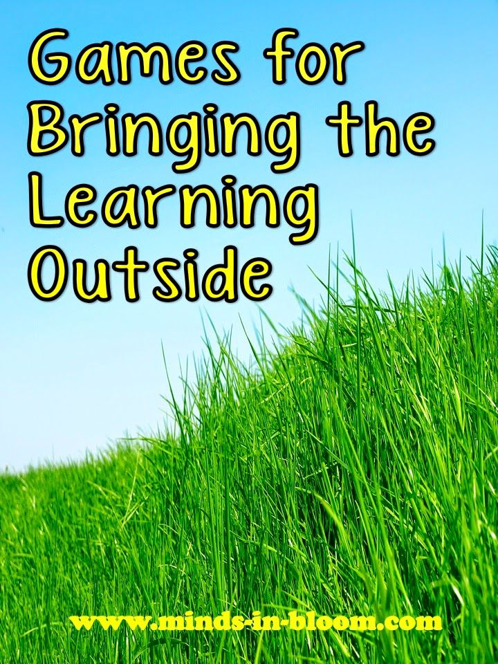 Games for Bringing the Learning Outside | Minds in Bloom