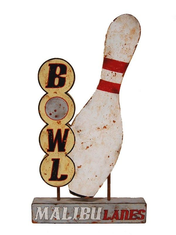 72 best Bowling Alley images on Pinterest | Bowling, Signs and Vintage