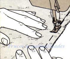 Reglas generales para hacer costuras. La ejecución de una costura tiene por objeto unir dos o más piezas de tela a lo largo de una línea. Las costuras suele