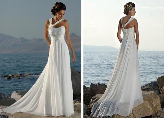 Платья в греческом стиле (46 фото)