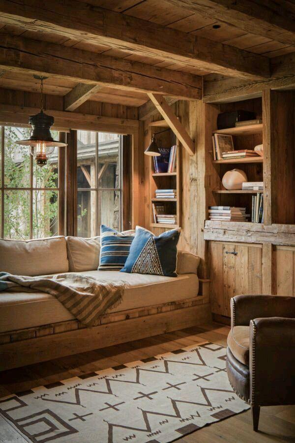 Ultimate cabin window seat!