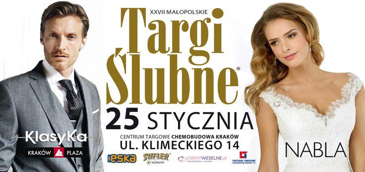 W tym roku po raz kolejny zaufały nam Targi Ślubne Kraków!   Dziękujemy :)