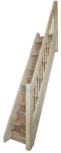 Space saver Staircases - The Budget spacesaver offers exellent value Loft stairs Ships ladder