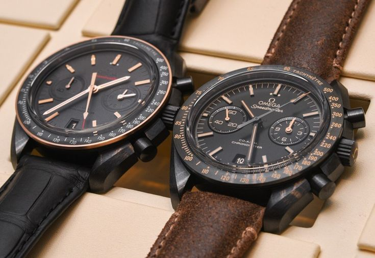 Omega Speedmaster Dark Side Of The Moon Watch Hands-On In All Four New Colorways