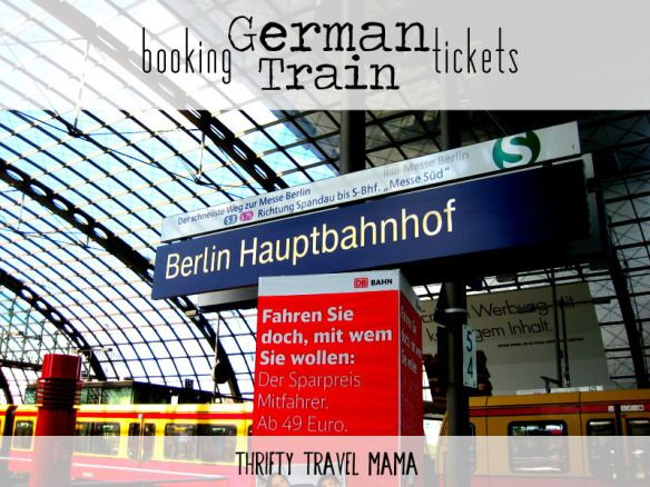Thrifty Travel Mama | Booking German Train Tickets Online