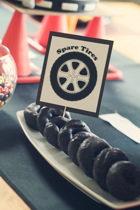 Construction Party Food - Spare Tires