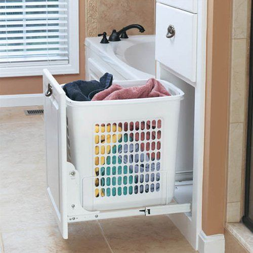 Rev-A-Shelf RHPRV-1520S 20 in. Pull-Out Hamper - White - About Rev-A-Shelf Rev-A-Shelf, a Jeffersontown, Kentucky-based company has been dedicated to the creation of innovative, useful residential...