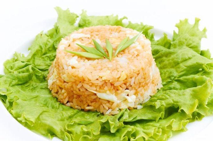 Рис с яйцом / Простые рецепты