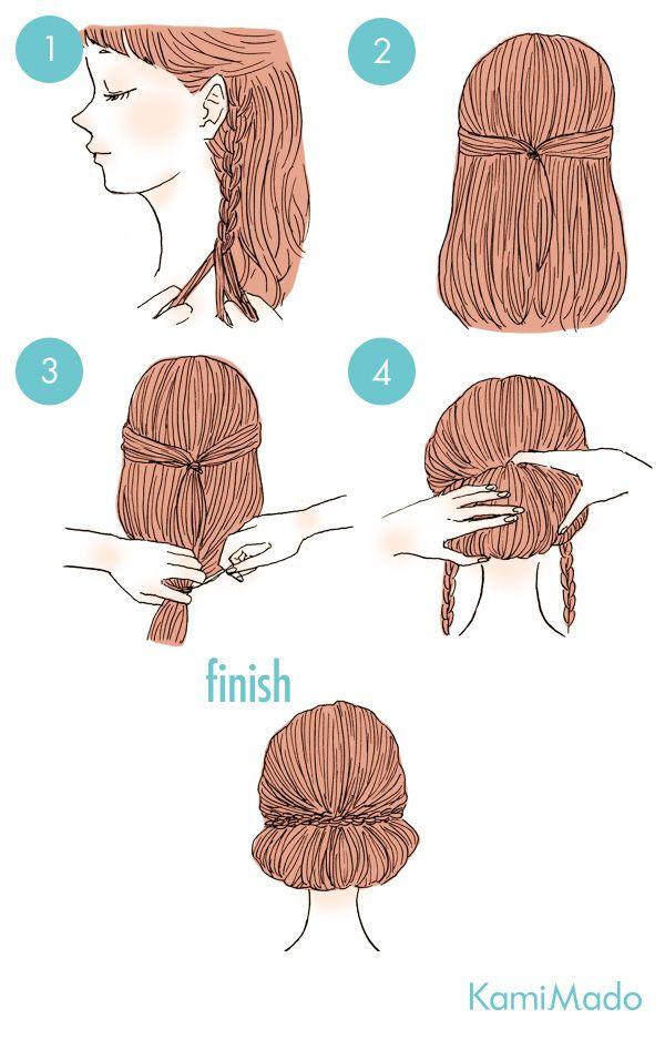 35 Fáciles peinados para mujeres con pelo largo que cualquier persona puede…