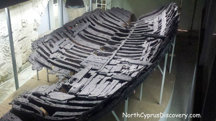 Kyrenia shipwreck, the oldest Greek trade ship (3rd century BCE) ever found near Kyrenia. It was discovered by Greek-Cypriot diving instructor Andreas Cariolou in November 1965 during a storm. Located at the Ancient Shipwreck Museum, Northern Cyprus. For more information visit: http://northcyprusdiscovery.com/shipwreck-museum/