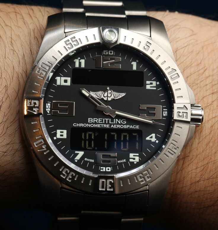 Breitling Aerospace Evo Watch E7936310/C869 Hands On   hands on