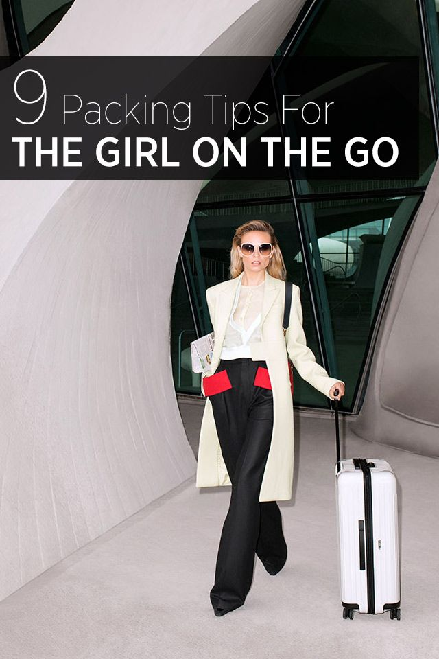 Going away this weekend? Packing tricks for every stylish girl on the go.