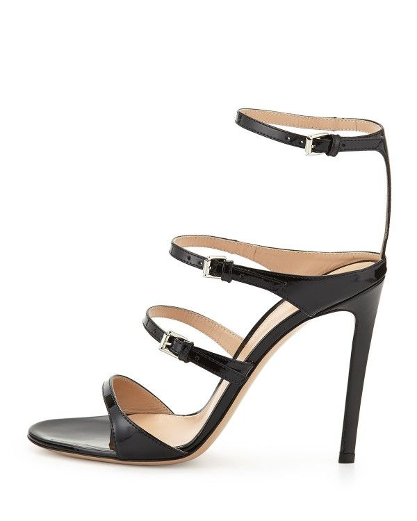 Gianvito Rossi Canvas Ankle Strap Sandals amazing price 12Vys