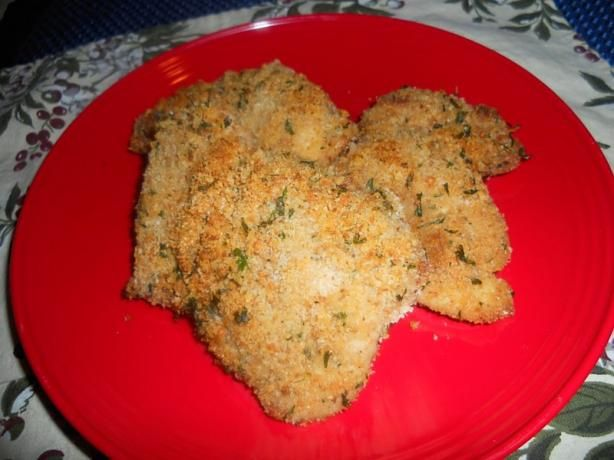"""Chicken Romano from Food.com:   This chicken is super easy, and can easily be cut down to 1 or 2 servings. It's great for a last minute """"what should I make for dinner"""" night.: Food Com, Chicken Romano, Dinner Night, Romano Recipe, Super Easy, Easily, Cut, Favorite Recipes, Chicken Favs"""