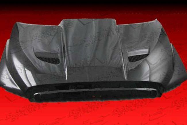 2007-2012 Toyota Tundra Blade Carbon Fiber Hood by ViS Racing - 07TYTUN2DBLD-010 $1,093.40