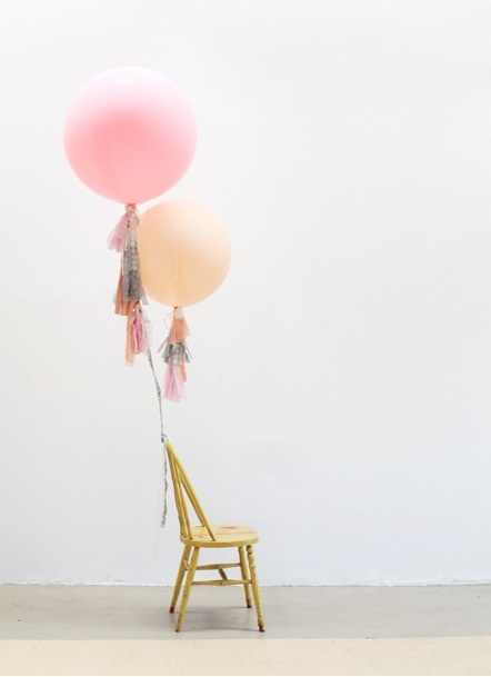 Image detail for -DIY Tassel Balloons – from Sweet Thing **here** , very chic and ...