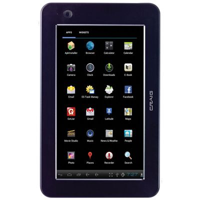 Craig CMP741d 7-In Touchscreen 4.0 Android Tablet PC