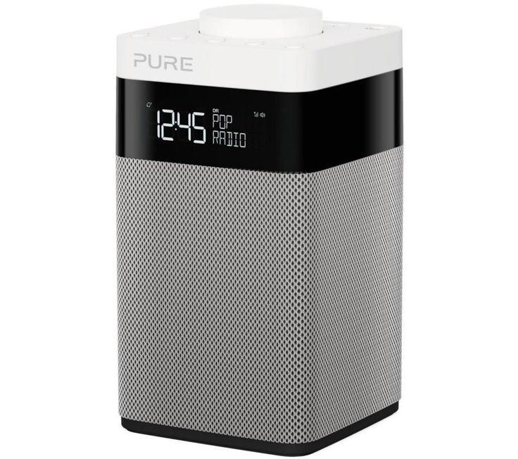 PURE  Pop Midi Portable DAB Clock Radio - Black & White, Black Price: £ 64.99 The compact Pure Pop Midi Portable DAB+ Radio in black and white combines a modern DAB+ radio as well as an FM analogue tuner. Contemporary design This modern twist on a traditional radio combines new technology with a contemporary black and white cube design. The Pop Midi VL-62688 has simple and easy to use...