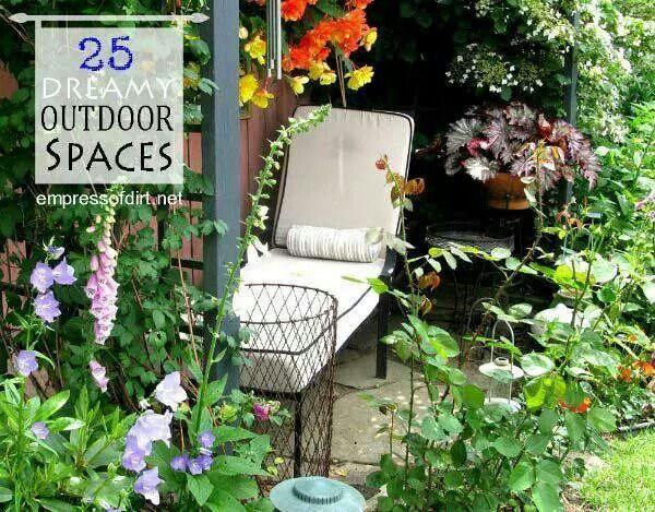 Dream outdoor spaces