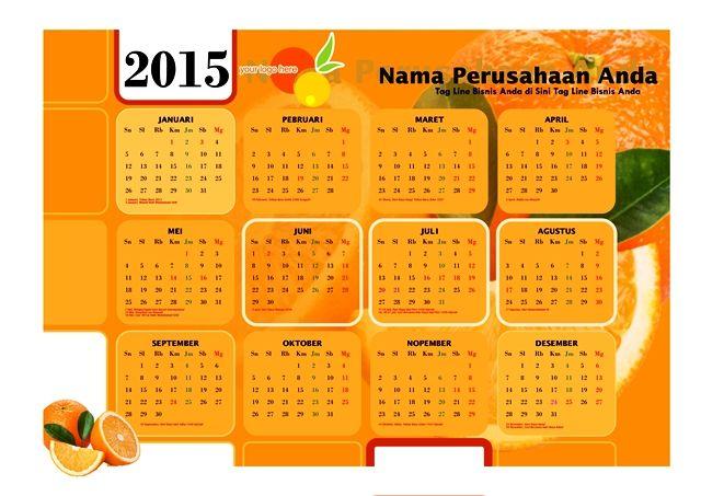 Kalender 2015 Desain 16   6 Desain Kalender 2015 Gratis Download Lengkap Hari Libur Nasional Cuti Bersama
