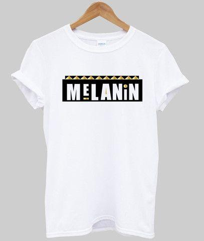 melanin T shirt #tshirt #shirt #graphicshirt #funnyshirt