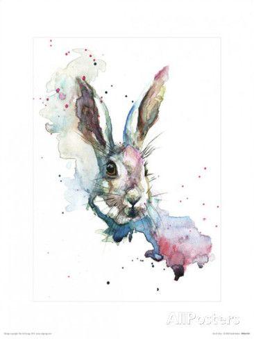 March Hare - Affischer av Sarah Stokes på AllPosters.se