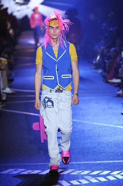 John Galliano, Summer 2009-Menswear,Look 4