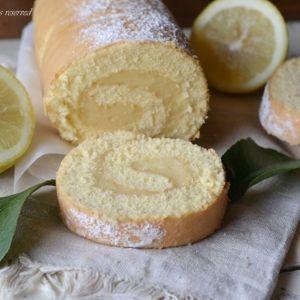 Rotolo con crema al limone