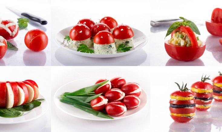 Daddy Cool!: Η τέλειες ιδέες για παρτυ! 9 Ορεκτικά με ντομάτα!