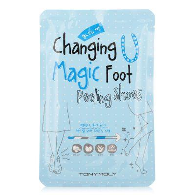 [TONYMOLY] Chaging U Magic Foot Peeling Shoes (2Pairs)