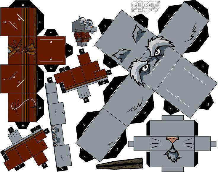 Blog_Paper_Toy_papertoys_Cubeecraft_Tortues_Ninja_Splinter