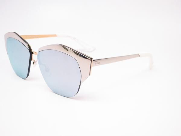 Dior Mirrored D4WDC Palladium Rose Gold Sunglasses