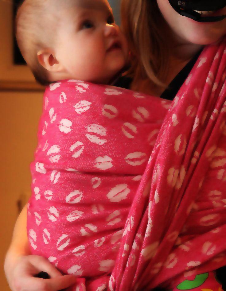 PinkNova Kiss me quick Babywearing Draagdoek