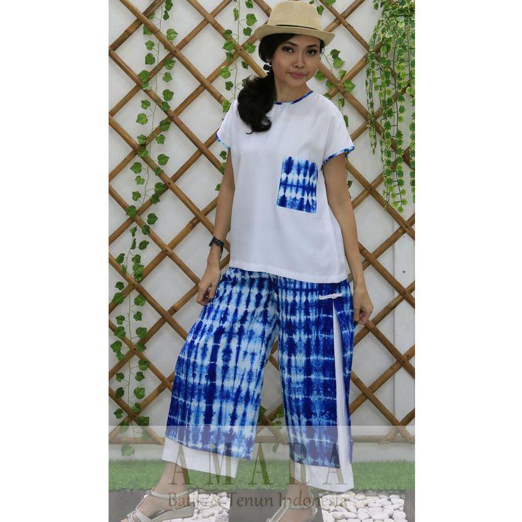 Shibori Pants & Tops www.amarabatik.com