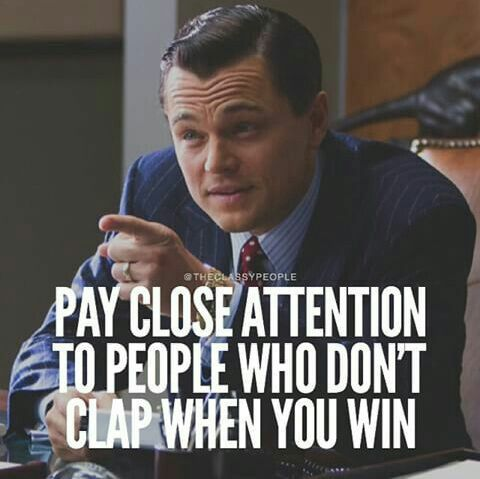 Pay close attention to people or try to make you look bad any chance they get                                                                                                                                                      More