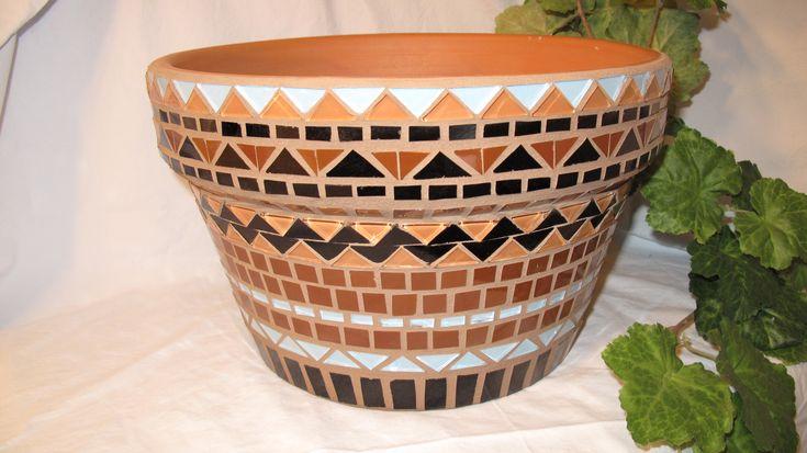 Southwestern Mosaic Pottery