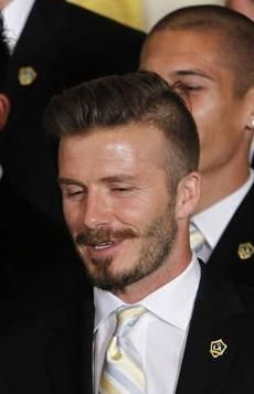 Best Mens Hair Images On Pinterest Boyfriends Clothes For - Hairstyle beckham 2012