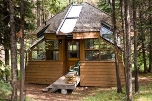 The Evamy Studio  (for writers) Exterior - Leighton Artists' Colony at The Banff Centre