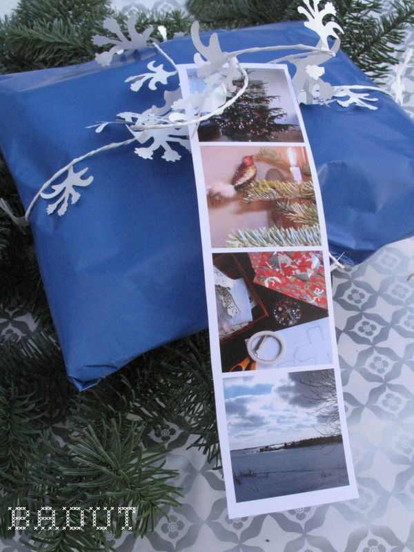 Lav personlige til og fra kort ved at lave en lang collage af julebilleder på PicMonkey. Her er der valgt ret neutrale motiver, men det er oplagt at lave collager med et julebillede af giveren. Dette indlæg er redigeret december...