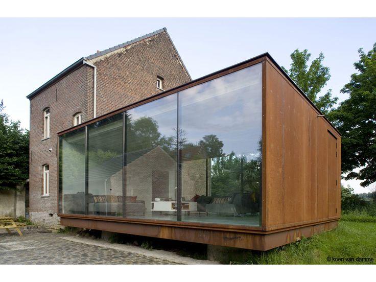 House (Extension) | Belgium | Van De Voorde - Piffet Architecten | photo © Koen van Damme