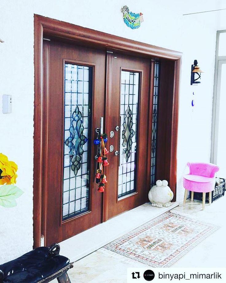Güneşe ve neme dayanıklı villa kapımız Otantika #Repost @binyapi_mimarlik (@get_repost)  #binyapimimarlik #architecture #architects #design #designer #villa #izmir #narlıdere #sahilevleri #huzur mutluluk #serenity #happiness