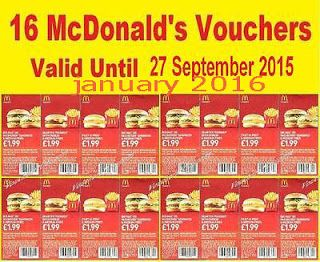 Mcdonalds coupons au