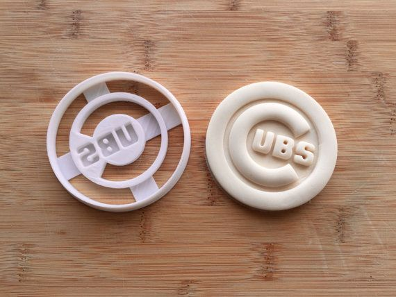 Chicago Cubs Cookie Cutter by ThePrintingPavilion on Etsy