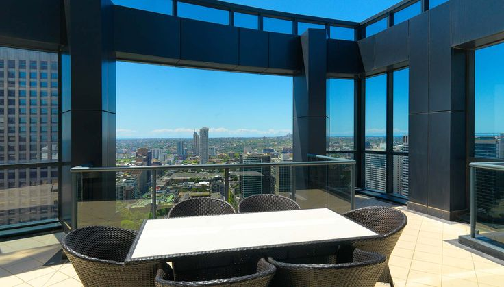 3 Bedroom Penthouse Apartment Meriton Luxury Hotel Sydney Pitt Street