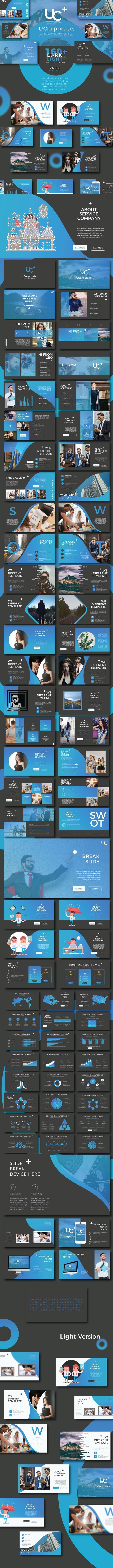 UCorporate - Creative Business Template - Business PowerPoint Templates