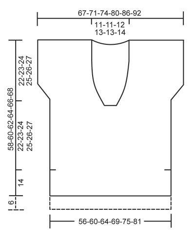 """Fields of Gold / DROPS 138-10 - Strikket DROPS bluse uden ærmesøm i """"Alpaca Bouclé"""" med korte ærmer og sjalskrave. Str S-XXXL - Free pattern by DROPS Design"""